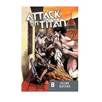 Attack on Titan 8 Paperback