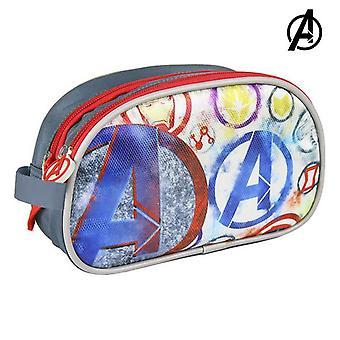 School Toilet Bag The Avengers Grey