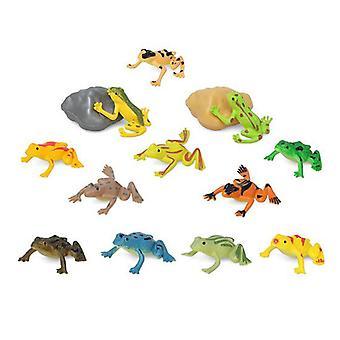 Set of Wild Animals 110197 Frog (14 Pcs)