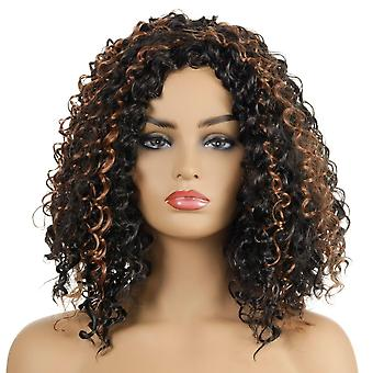Brand Mall Wigs, Lace Wigs, Realistic Fluffy Short Curly Hair
