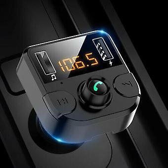 Bluetooth LCD Langaton Auto MP3 FM Lähetin Radio USB Laturi Handsfree Kit Suomi