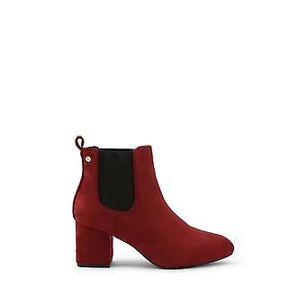 Roccobarocco - Sapatos - Botas de tornozelo - RBSC1LH02-BORDEAUX - Mulheres - Vermelho - EU 37