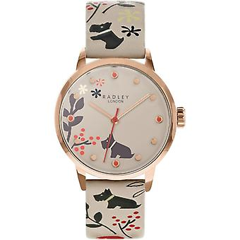 Radley Mto - Aw20 Promo Ry2930a Grey Dial Leather Strap Ladies Watch