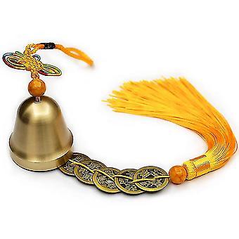 Copper Bells Pendant Safe Pure Copper Wind Chimes Campanula Ornaments
