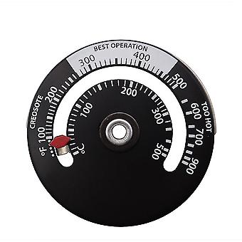 Wood Fireplace Fan Stove Thermometer With Probe Household Sensitivity Barbecue
