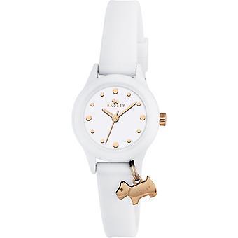 Radley Ry2320 White Dial Rubber Strap Ladies Watch