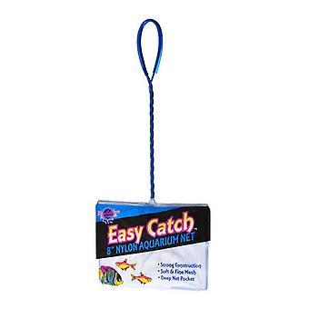 """Blue Ribbon Easy Catch Fine Mesh Fish Net - 8"""" Wide Net"""