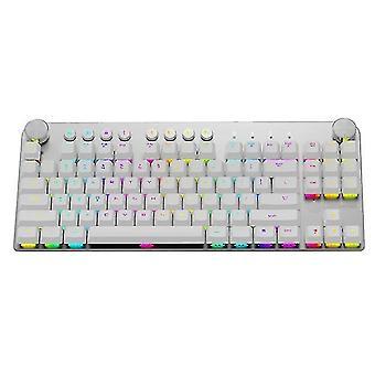 Keyboards magic refiner mechanical gaming keyboard white