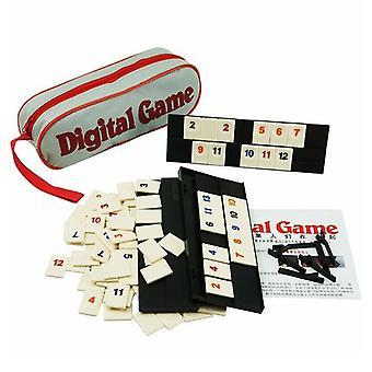 Israël Blokus Rapide Mouvement Rummy Tile Classique Jeu de Société 2-4 Personnes Israël Mahjong Jeu Numérique Hotest Party Game Portable