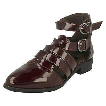 Damen-Spot auf Riemchen Schuhe