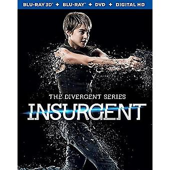 Divergent Series: Insurgent [BLU-RAY] USA import