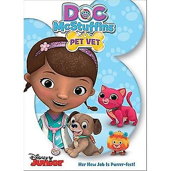 Doc McStuffins: Doc USA Pet Vet [DVD] import
