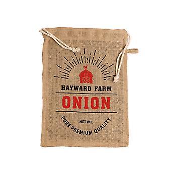 Jute Hayward Farm Onion Bag