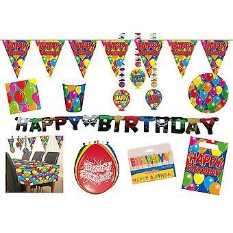 Impreza pola urodziny balon projektowania 57-teilig ozdobne pudełko impreza