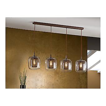 Schuller Tradicional Chocolate Jar Ceiling Pendant 4 Light