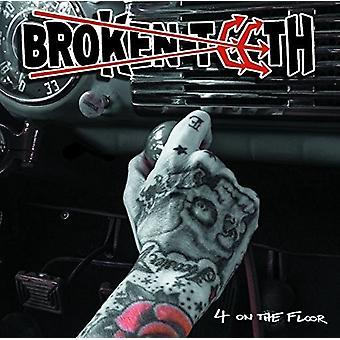 Broken Teeth - Four on the Floor [CD] USA import