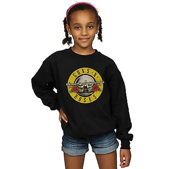 Guns N Roses Girls Bullet Logo Sweatshirt