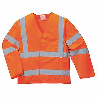Portwest - Hi-Vis Safety Workwear Jacket Flame Resist