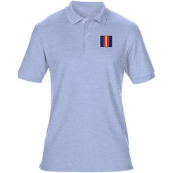 The Royal Anglian Regiment Embroidered TRF Logo - Official British Army Mens Polo Shirt
