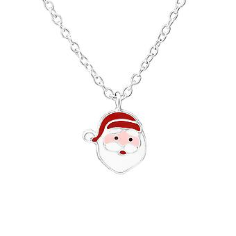 Santa Clause - 925 Sterling Silver Necklaces - W35184X
