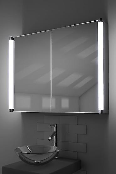 Dabir LED Demist Cabinet Avec Dévésiculeur Pad, Sensor & Shaver K318