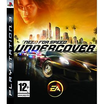 Need For Speed Undercover (PS3) - Uusi