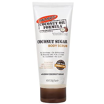 Palmers kokos olje formel sukker Body Scrub Tube 200g