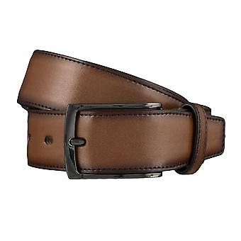 Ceintures de ceinture ceintures hommes LLOYD hommes cuir ceinture Cognac 4144