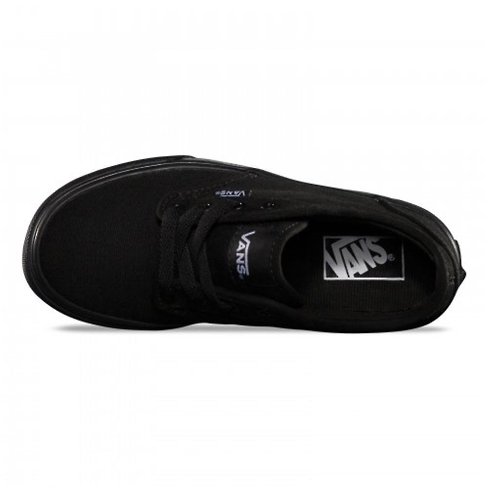 Vans Y Atwood Toile Noir Vki5186 Universal Skate Shoes Enfant Toute L'année