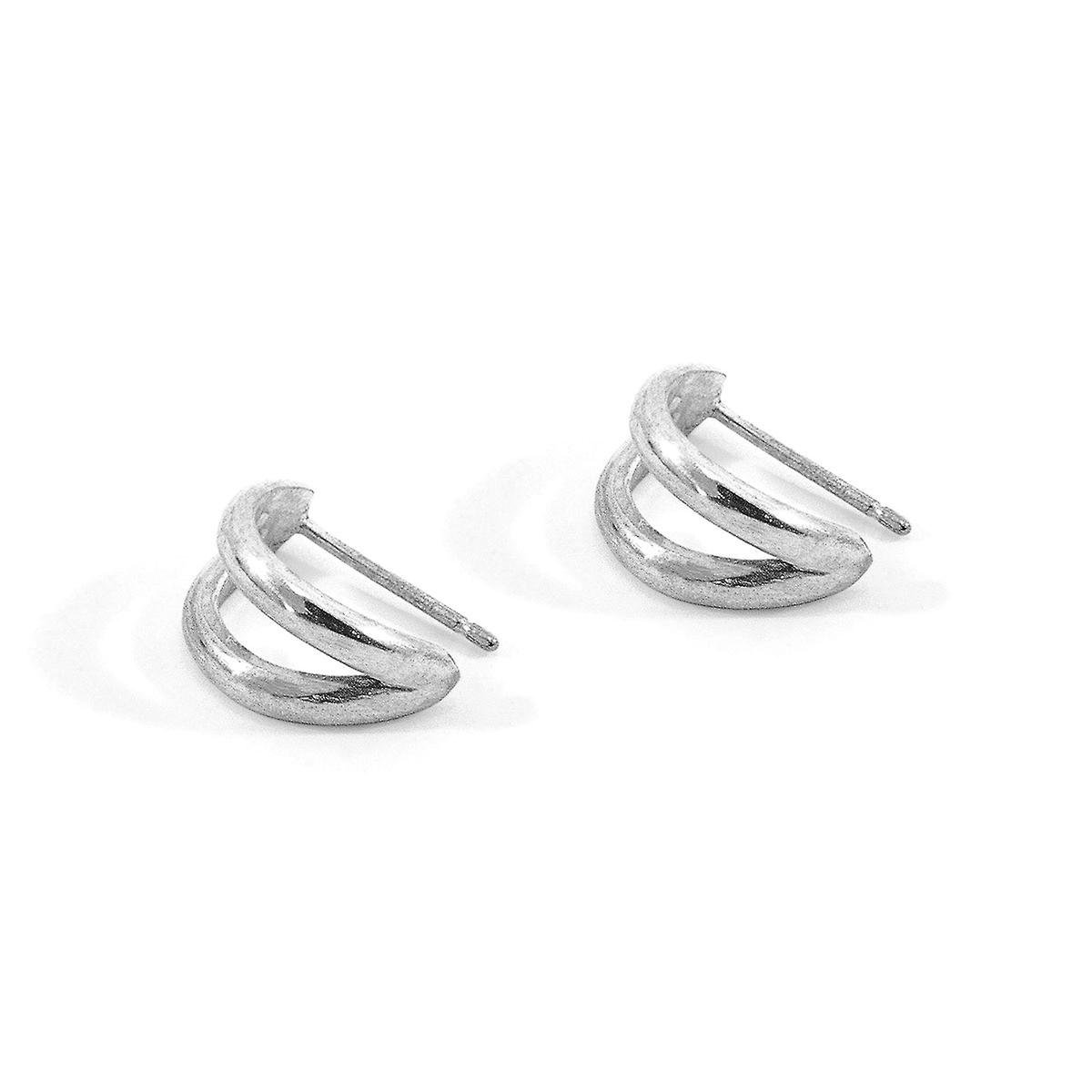 Anchor & Crew Huntington Surf Silver Earring Studs