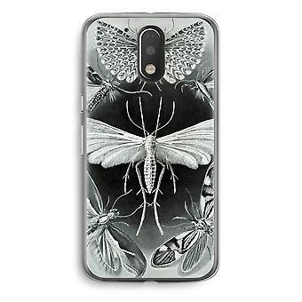 Motorola Moto G4/G4 Plus Transparent fodral (Soft) - Haeckel Tineida