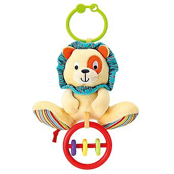 Little Pals Lion Rattle With Rings
