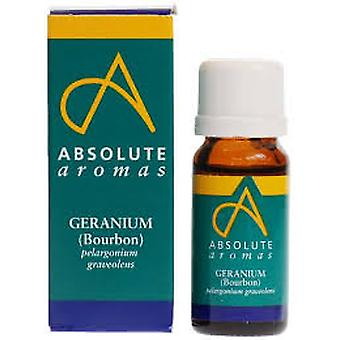 Absolute Aromas, Geranium Bourbon Oil, 10ml