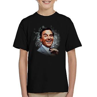 TV volte Bob Monkhouse 1982 t shirt bambino