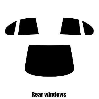 Pre cut window tint - Nissan Primera 5-door Hatchback - 1990 to 1996 - Rear windows