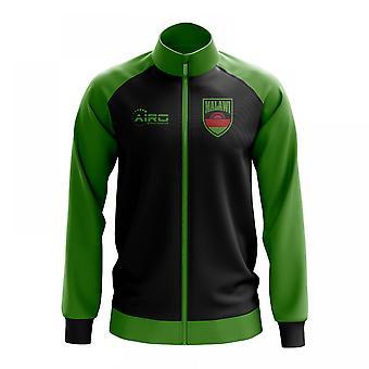 Malawi käsite jalkapallo Track Jacket (musta)
