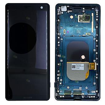 Unidad completa de Sony pantalla LCD con marco para 1315-5028 Xperia XZ3 H8416 H9436 H9493 Grün recambios nuevos