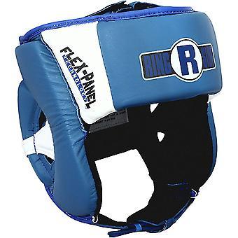 Ringside boksen Open gezicht Elite Sparring hoofddeksels - blauw/wit