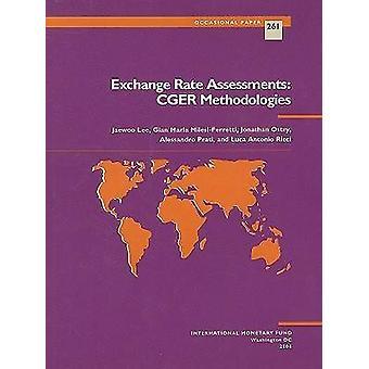 Exchange Rate Assessments - CGER Methodologies by Jaewoo Lee - Gian Ma