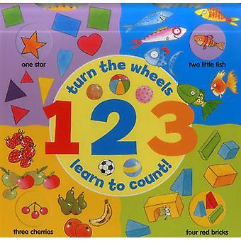 1 2 3 (كتاب عجلة)-تشغيل العجلات-تعلم العد بجان لويس-