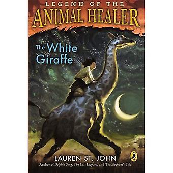A girafa branca