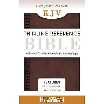 KJV Thinline Referentie Bijbel kastanje bruin: een tijdloze klassieker in een draagbaar, gemakkelijk-leesbare stijl