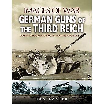 Cannoni tedeschi del terzo Reich (immagini di guerra)