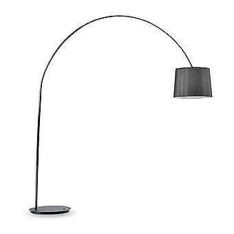 Ideal Lux - Dorsale nero con telaio nero lampada da terra IDL095127