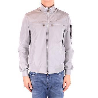 Peuterey Ezbc017084 Men's Grey Polyester Outerwear Jacket