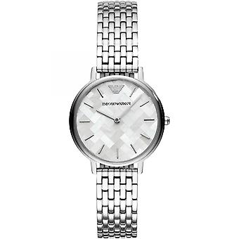 Emporio Armani Quartz argent dames Womens Wrist Watch AR11112