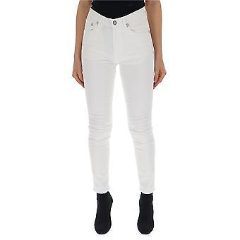R13 R13w0023269 Women's White Denim Jeans