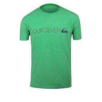 Quiksilver Lane Transit Mens T-Shirt-Heather vert