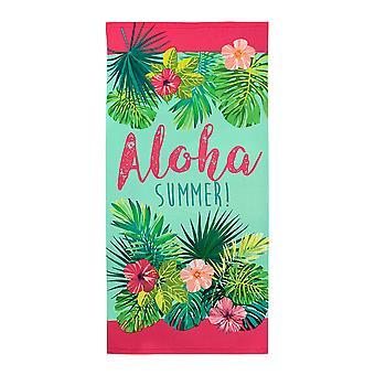 Alfresco trykt badehåndklæde, Aloha