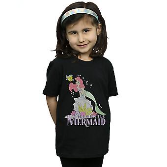Disney Girls The Little Mermaid Faded Nostalgia T-Shirt